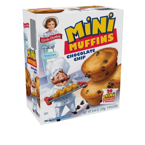 Little Debbie Chocolate Chip Mini Muffins - 5ct/8.44oz - image 1 of 4