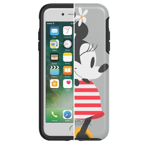 the latest 84fd6 1decd OtterBox Apple iPhone 8 Plus/7 Plus Disney Symmetry Case - Minnie Mouse  Stripes