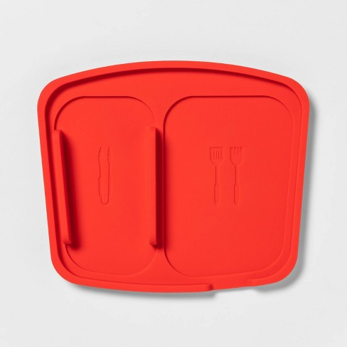 Grill Tool Trivet Red - Sun Squad™ - image 1 of 3