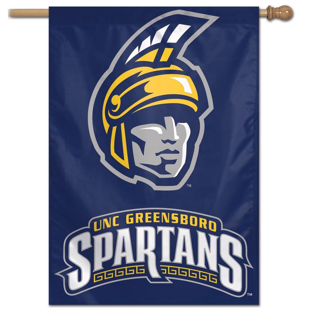 NCAA Uncg Spartans Vertical Banner