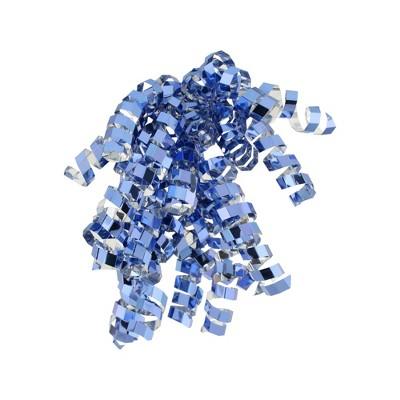 Blue Glitter Crimped Curl Swirl - Spritz™