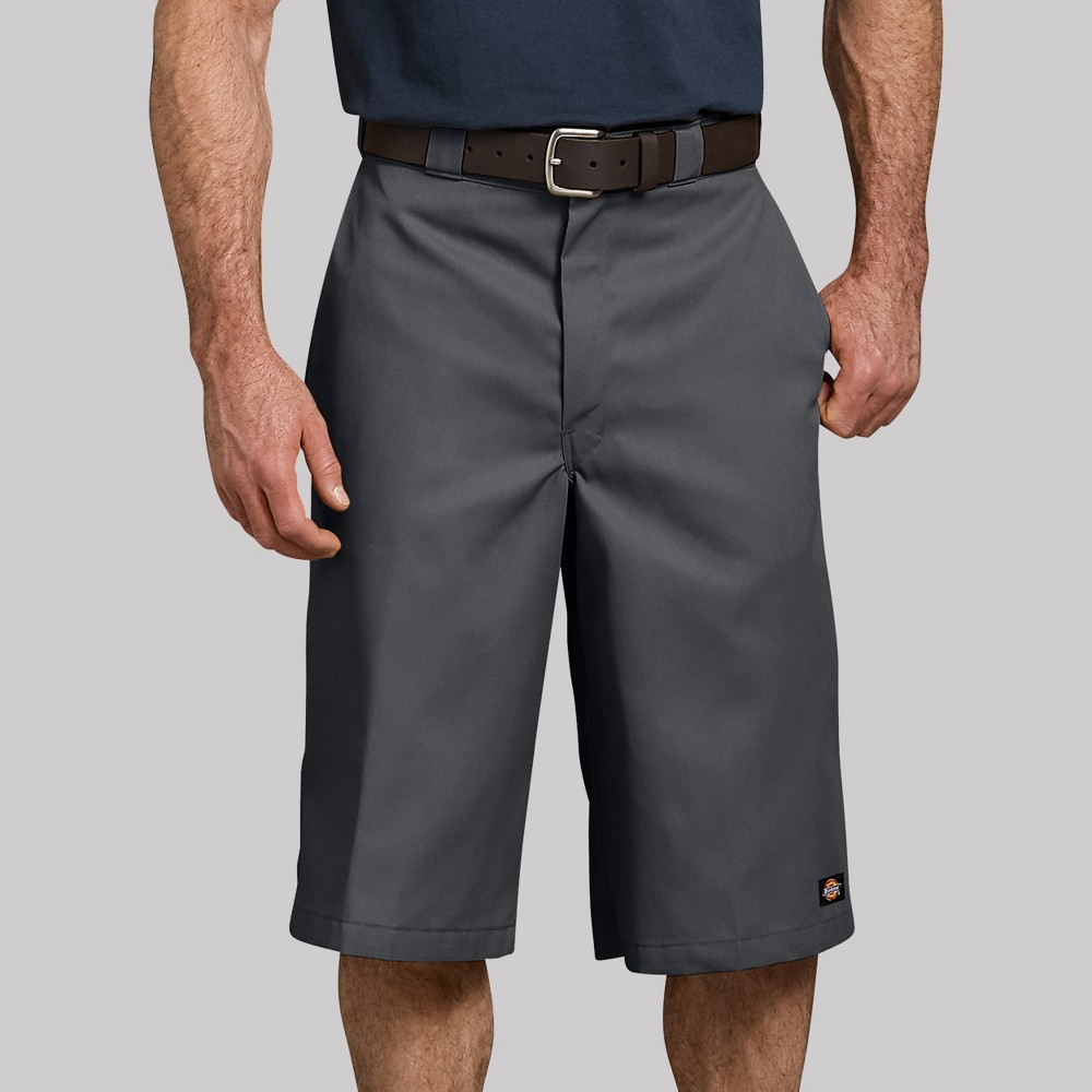 Dickies Men's 16 Trouser Shorts - Gray 38
