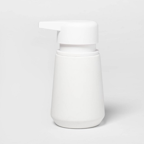 Modern Soft Touch Soap Pump White - Threshold™ - image 1 of 1