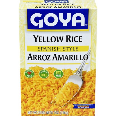 Goya Spanish Style Yellow Rice Mix - 7oz