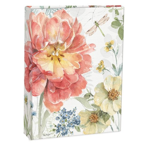 """Address Book 6.5"""" x 8.5"""" Spring Meadow - LANG - image 1 of 4"""