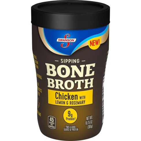 Swanson Sipping Bone Broth Chicken with Lemon & Rosemary - 10.5oz - image 1 of 4