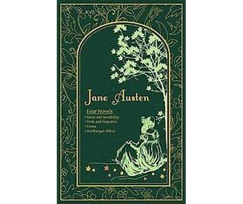Jane Austen : Four Novels: Sense and Sensibility, Pride and Prejudice, Emma, Northanger Abbey - image 1 of 1