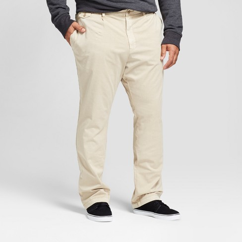 Men's Big & Tall Slim Fit Rolled Chino Pants - Goodfellow & Co™ - image 1 of 3