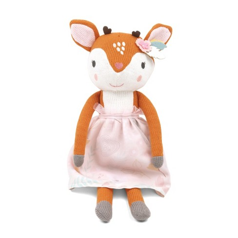 Peanut Shell Meadow the Deer Knit Plush - image 1 of 5