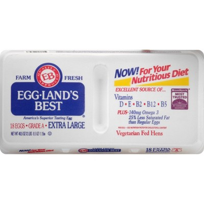Eggland's Best Grade A Extra Large Eggs - 18ct
