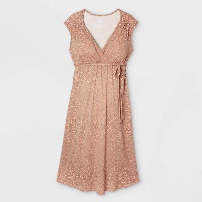 Short Sleeve A-Line Maternity Dress - Isabel Maternity by Ingrid & Isabel™