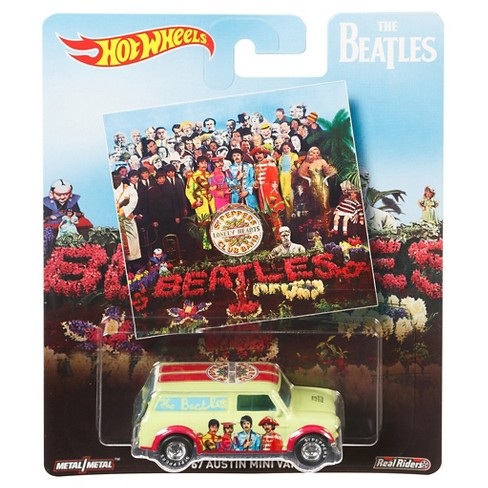 Hot Wheels Beatles '67 Austin Mini Van Die-Cast - image 1 of 2