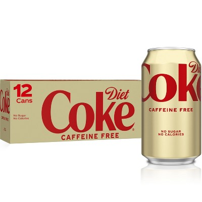 Diet Coke Caffeine Free - 12pk/12 fl oz Cans
