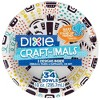 Dixie Craftimals Disposable Bowl - 34ct/10oz - image 3 of 4