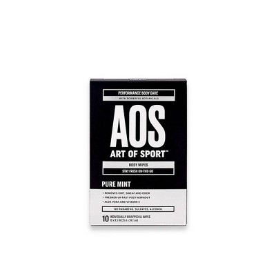Art of Sport XL Body & Face Wipes - 10ct