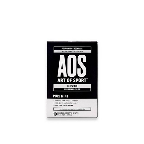 Art of Sport XL Body & Face Wipes - 10ct - image 1 of 3