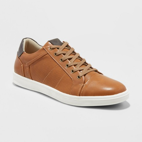 Men s Eddie Casual Sneakers - Goodfellow   Co™ Tan   Target 6bc22a32defe