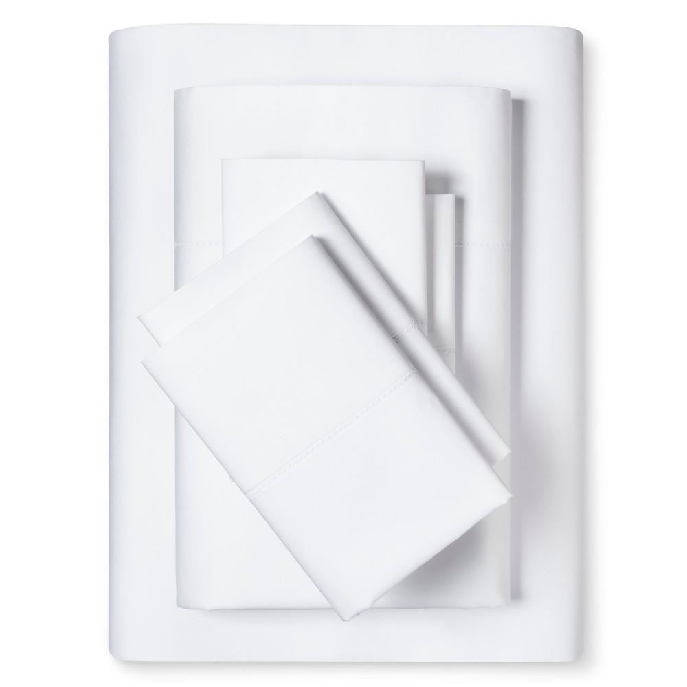 Luxury Estate 1200 Thread Count Sheet Set (King) White - Elite Home