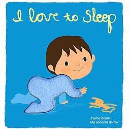I Love to Sleep : Touch-and-Feel (Hardcover)(Amelie Graux)