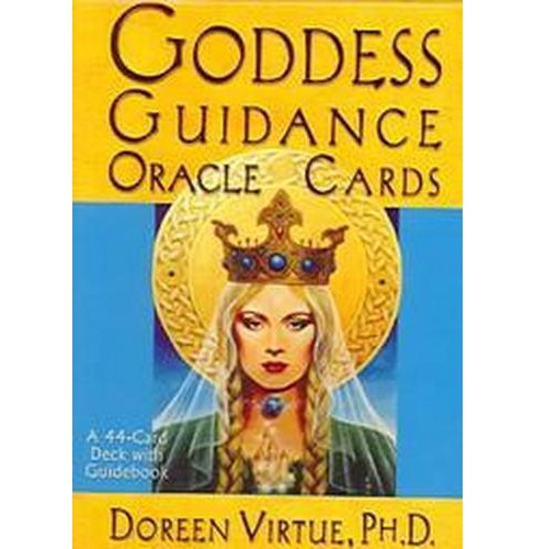 Goddess Guidance Oracle Cards (Paperback) (Doreen Virtue) - image 1 of 1