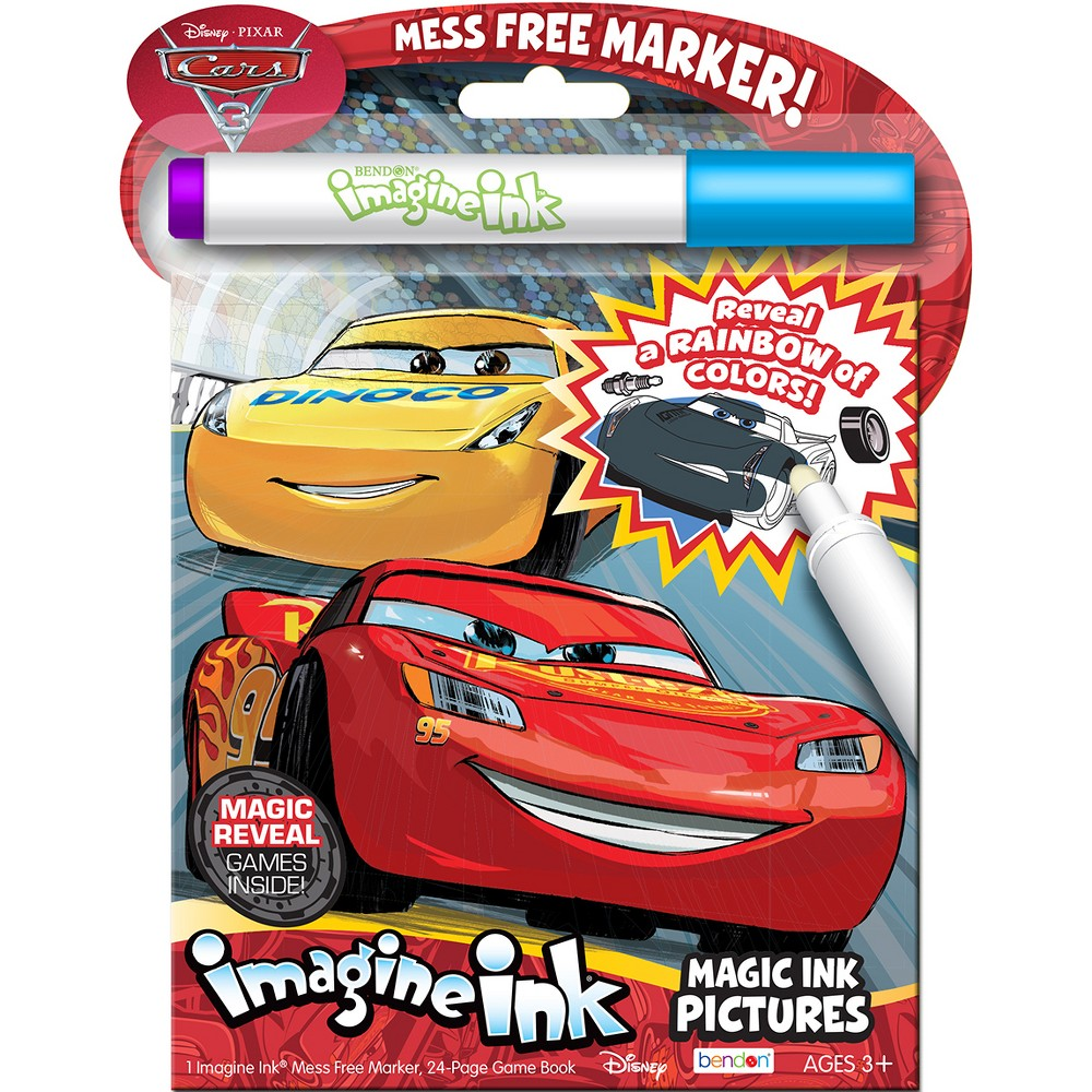 Cars 3 Imagine Ink Magic Ink