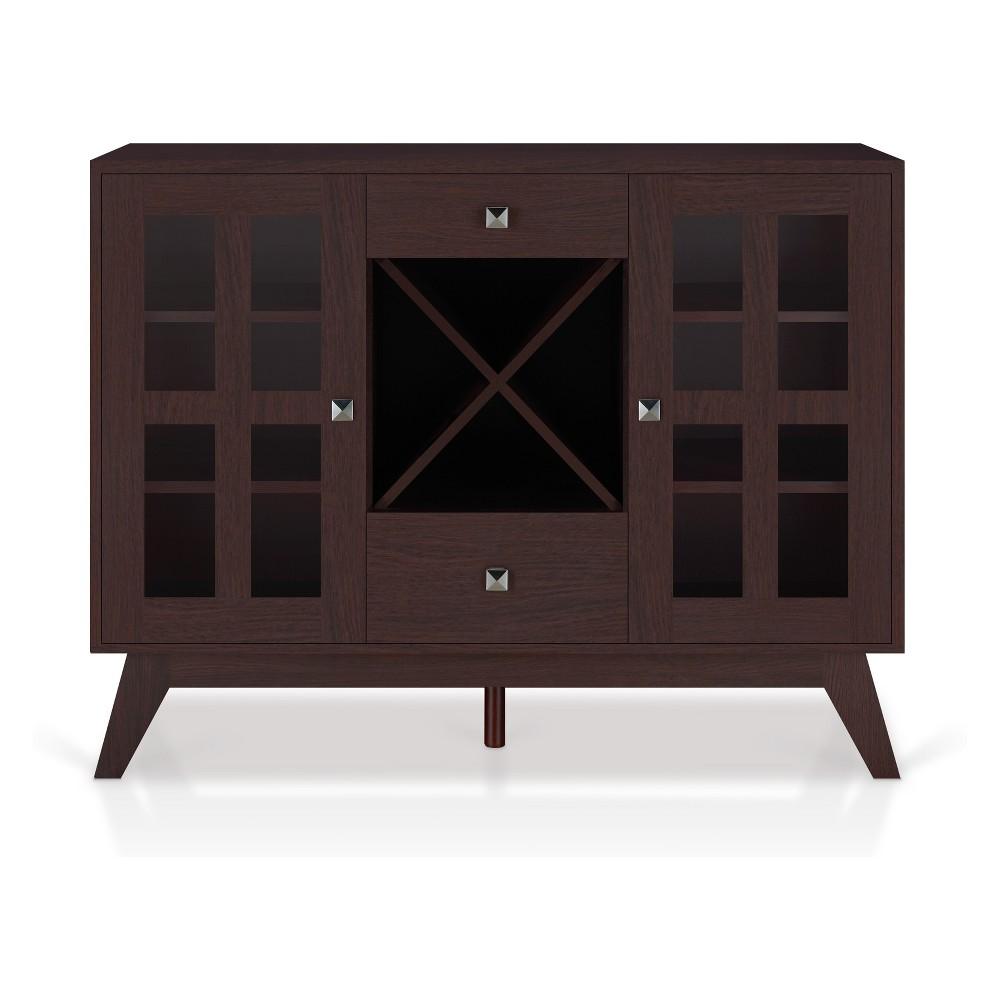 Iohomes Goodwyn Transitional Buffet Table Espresso - Homes: Inside + Out, Black Espresso