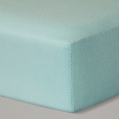 Fitted Crib Sheet Solid - Cloud Island™ - Mint