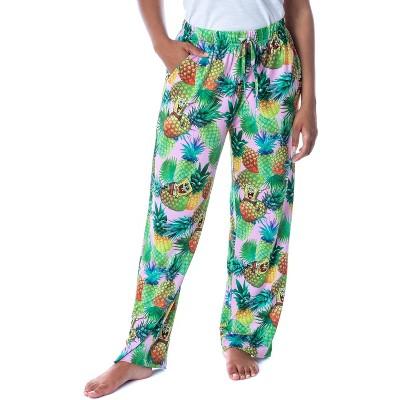Nickelodeon Womens' SpongeBob SquarePants Pineapples Sleep Pajama Pants