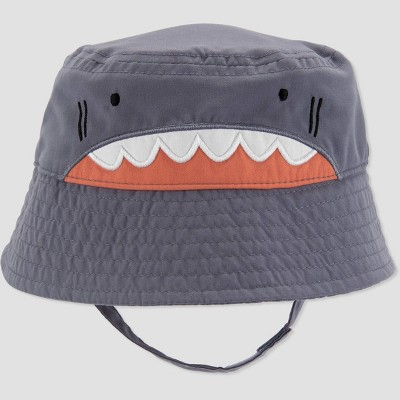 Baby Boys' Shark Swim Hat - Just One You® made by carter's Gray 6-12M