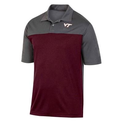 NCAA Virginia Tech Hokies Men's Short Sleeve Polo Shirt