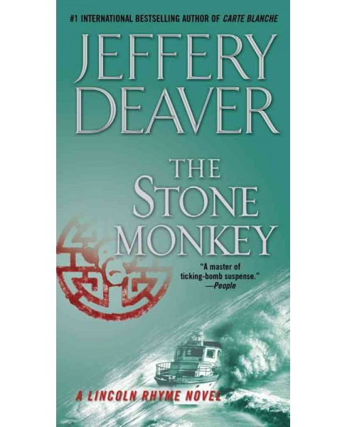 Stone Monkey : A Lincoln Rhyme Novel -  by Jeffery Deaver (Paperback) - image 1 of 1