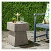 Zen Square Mushroom Concrete Accent Table - Safavieh® - image 2 of 4