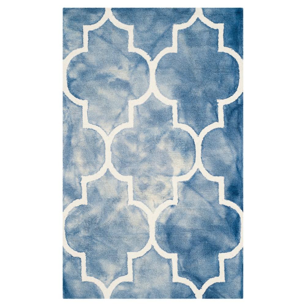 Briar Accent Rug - Blue / Ivory (3' X 5') - Safavieh