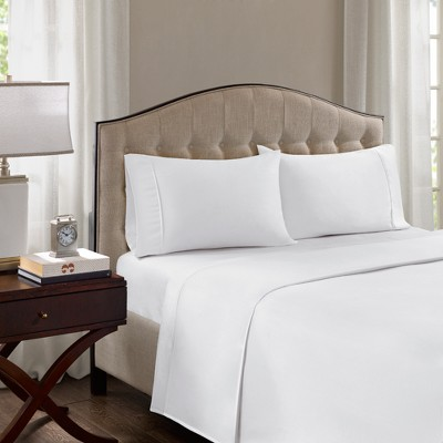 Cotton Blend Pillowcases Set 1500 Thread Count