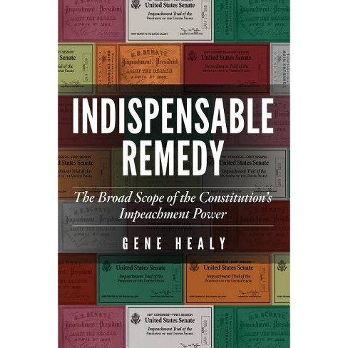 Indispensable Remedy - by  Gene Healy (Paperback) - image 1 of 1