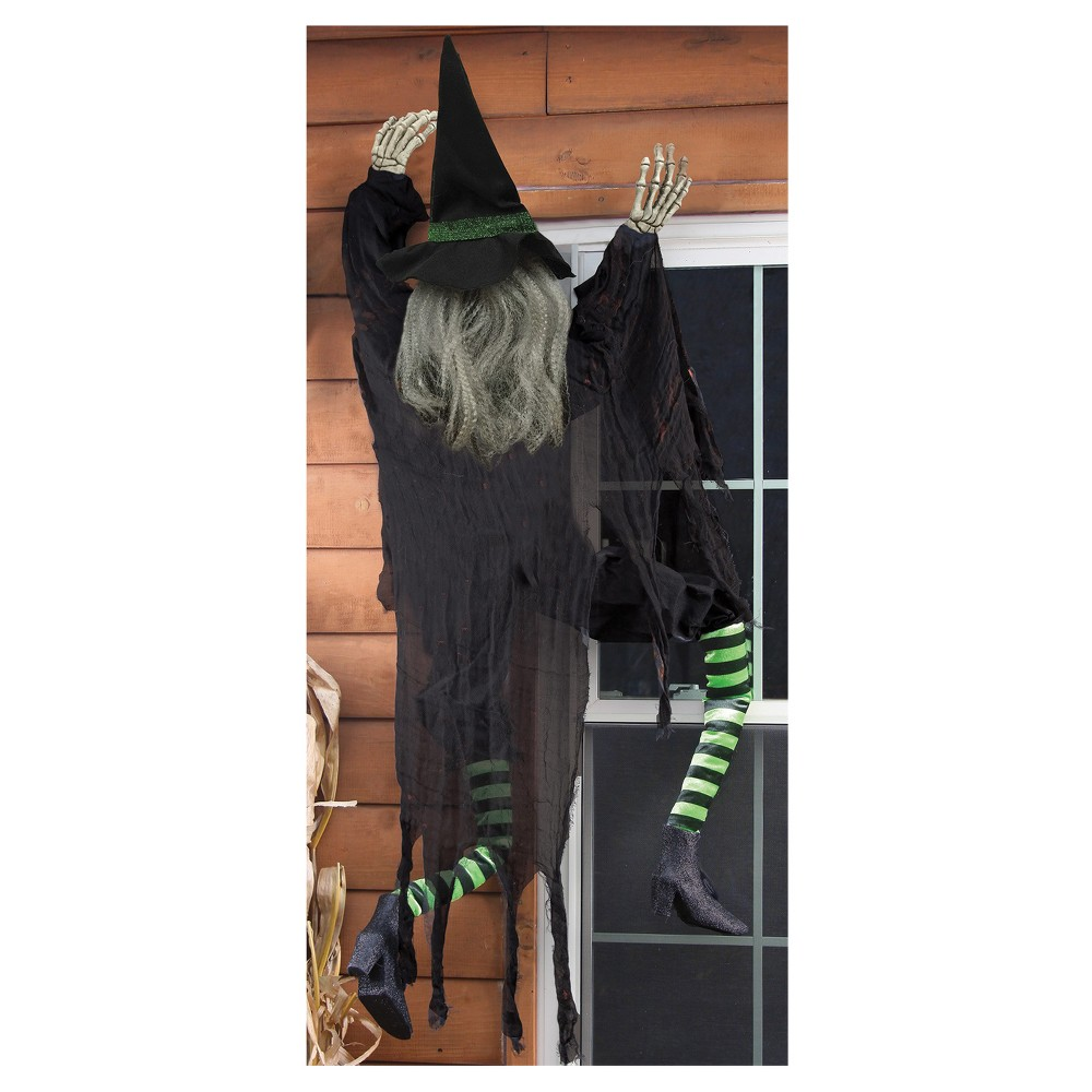 Image of Halloween Climbing Witch, Multi-Colored