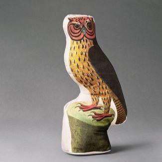 Hocus Barn Owl Shaped Throw Pillow - John Derian for Threshold™