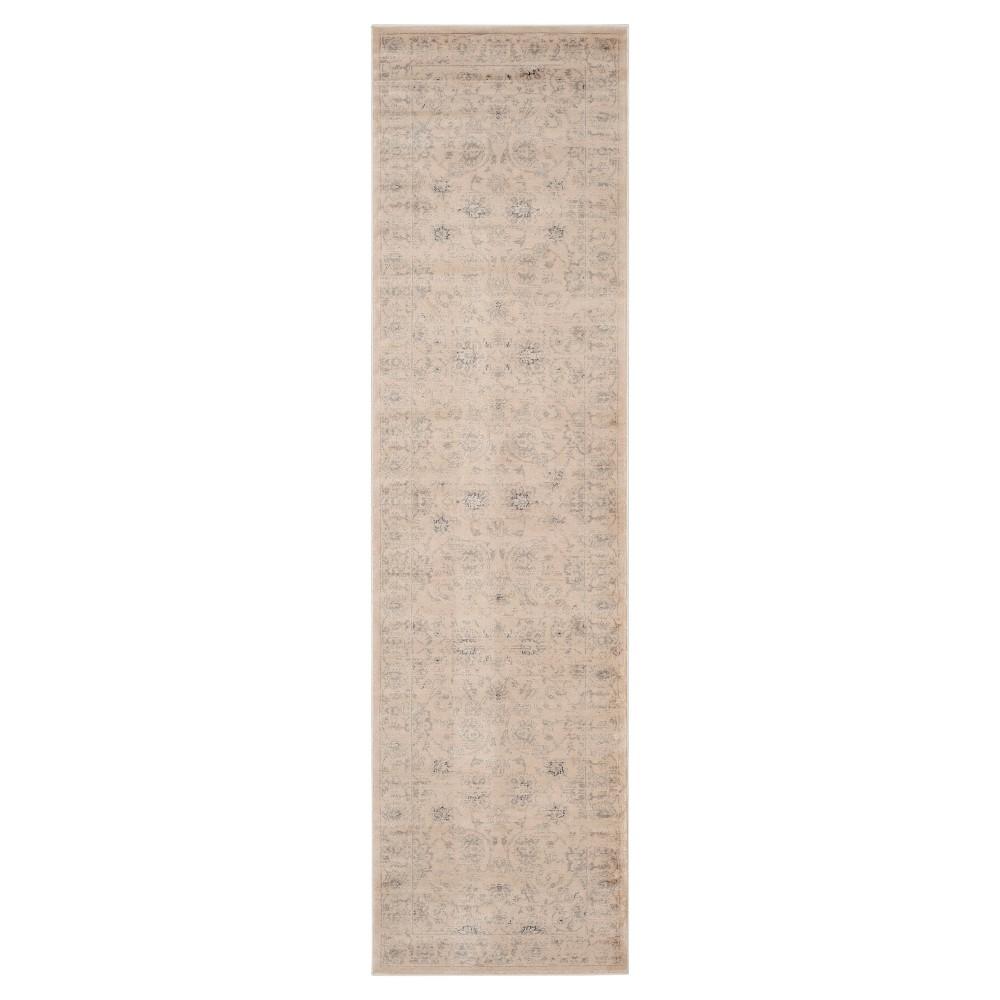Cherine Vintage Inspired Rug - Creme (2'2 X 8') - Safavieh, Ivory/Beige