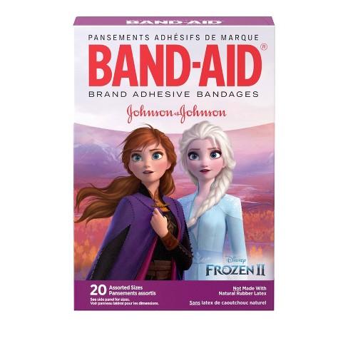 Band-Aid Disney Frozen Adhesive Bandages - 20ct - image 1 of 4