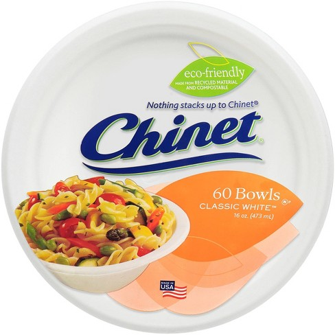 Chinet Classic White Bowl - 60ct/16oz - image 1 of 4