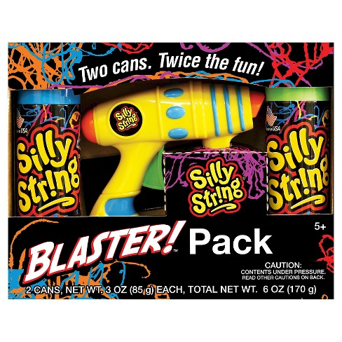 Silly String Blaster Pack - image 1 of 1