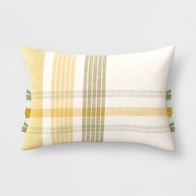 Plaid Throw Pillow - Threshold™