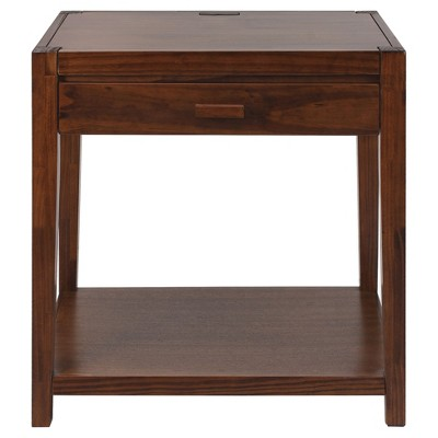 Nightstand with Usb Port - Flora Home
