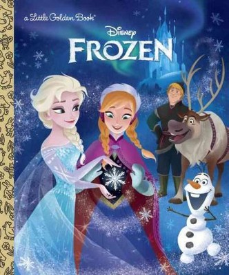 Frozen ( Little Golden Books)(Hardcover)