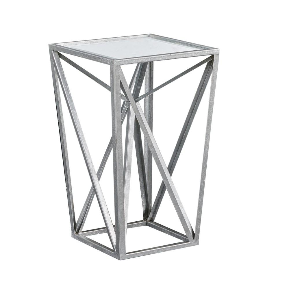 Jaye Angular Mirror Accent Table Mirror