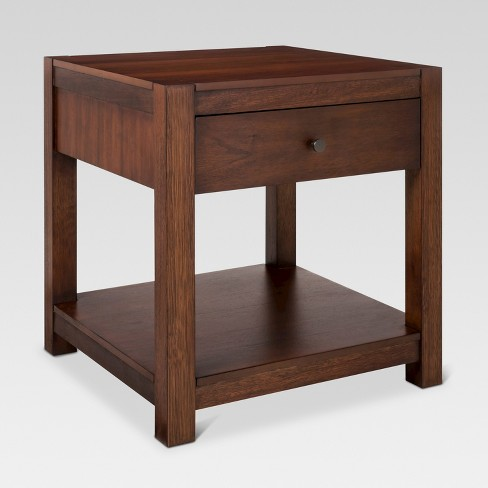 Parsons End Table Brown - Threshold™ - image 1 of 1
