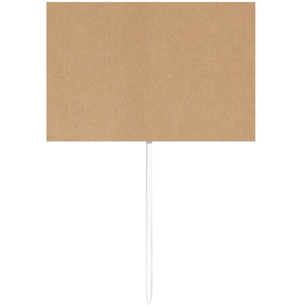 12ct Graduation Kraft Paper Food Markers