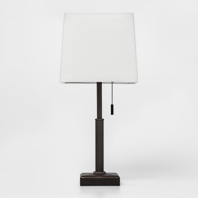 Square Stick with Outlet Table Lamps Bronze - Threshold™