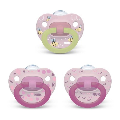 NUK Pacifier Assorted Size 0-6 months Value Pack - 3pk