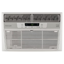 Frigidaire - 8000-BTU 115V Window-Mounted Mini-Compact Air Conditioner with Temperature Sensing - White